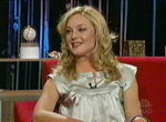 Elisabeth Romh dans le Last Call With Carson Daly