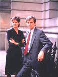 Carey Lowell et Sam Waterston