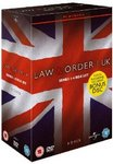 DVD Law & Order UK Series 1 to 4 / Londres Police Judiciaire Saisons 1 à 4 (Zone 2)