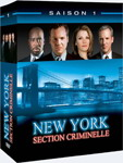Coffret DVD zone 2 de la première saison de Law & Order: CI (New York Section Criminelle)