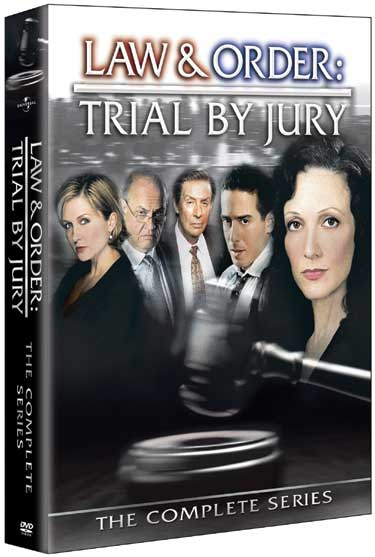 Le visuel du coffret Law & Order Trial by Jury / New York Cour de Justice