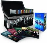 Coffret DVD zone 2 de l'intégrale de Law & Order (New York District / New York Police Judiciaire)