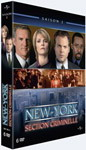 Coffret DVD zone 2 de la seconde saison de Law & Order: CI (New York Section Criminelle)